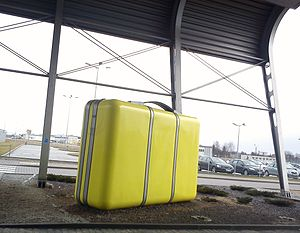 Suitcase. The airport in Poznan.jpg
