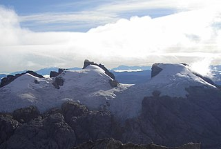 Sumantri sharp mountain in the western Sudirman Range (New Guinea)