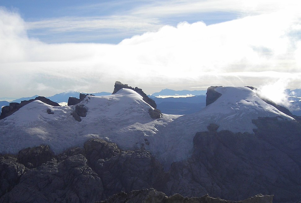 Sumantri (center) with Ngga Pulu (right) from Carstensz Summit by Christian Stangl flickr