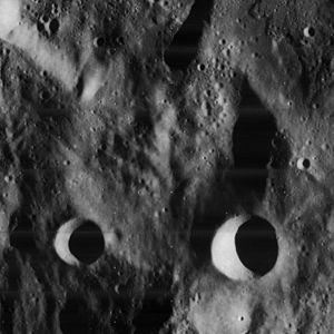 Sundman (crater) - Image: Sundman crater 4188 h 2