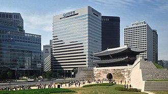 Shinhan Bank - Headquarters in Seoul, South Korea