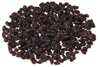 Raisin dried grape