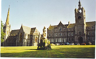 Blairs College - Sunset at Blairs College in 2001
