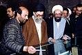 Supreme Leader Ali Khamenei in Shah Abdol Azim Mosque (1).jpg