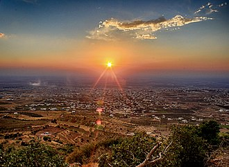 As-Suwayda - Suwayda's City aerial view October 2011