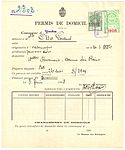 Switzerland 1908 Permis de Domicile.jpg