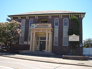 St Peters, New South Wales - St Peters Town Hall on Unwins Bridge Road.