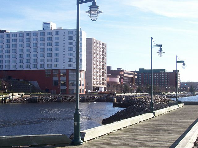 Harbour of Sydney, NS By Adamjet at English Wikipedia [Public domain], via Wikimedia Commons