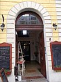 Szőke house. Portal. - 8 Pauler Street, Budapest.JPG