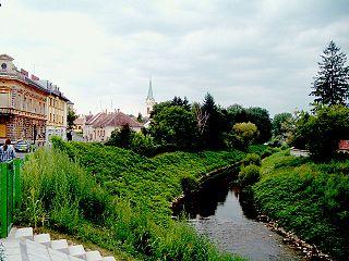 Szentgotthárd Town in Vas, Hungary