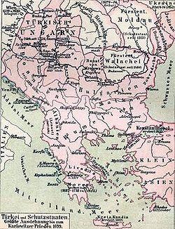 The Balkans in 1699