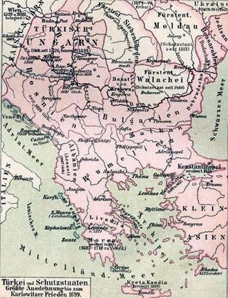 Wallachia - The Balkans in 1699