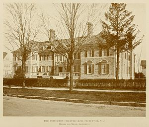 Princeton Charter Club - Image: T Square Club Catalogue 1915 p.34