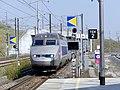 TGV Bruxelles-Nice entrant à Valence-TGV (avril 2019).JPG