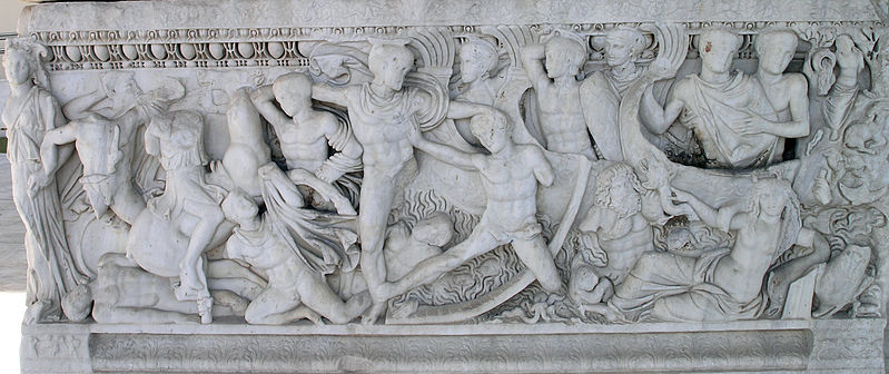 Fichier:THAM-Battle at the ships sarcophagus.jpg