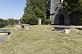 THREE CHEST TOMBS IN CHURCHYARD TO SOUTH OF ENTRANCE TO CHURCH OF ST MARY 5.jpg