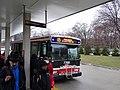 TTC bus 7766 at Castle Frank TTC station, 2014 12 17 (8) (15861815209).jpg
