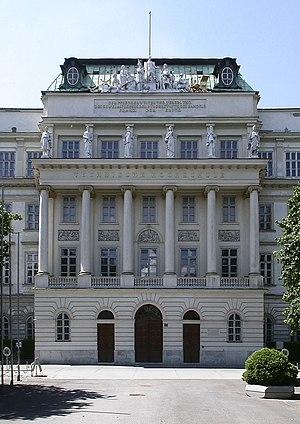 TU Wien, gmach główny