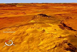 Tabun-Khara-Obo crater