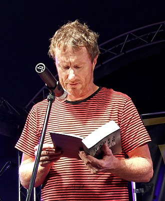 Tadej Golob - Tadej Golob reading from his book Jezero (Novo Mesto, August 2018)