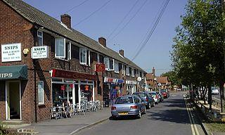 Tadley Human settlement in England