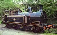 Taff Vale Railway locomotive no 28 at Caerphilly 1983.jpg