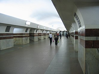 Taganskaya (Tagansko–Krasnopresnenskaya line) - Image: Taganskaya TKL mm