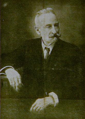 Josep Tapiró Baró - Photograph published in El Porvenir, with his obituary.