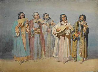 Lăutari - Lăutari in the 19th century