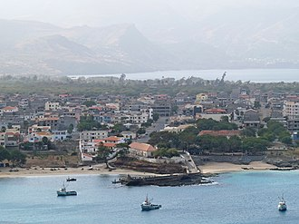 Tarrafal, Cape Verde - View of the town of Tarrafal