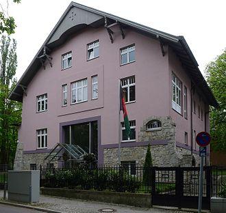 Afghanistan–Germany relations - Afghan embassy in Berlin, Germany.
