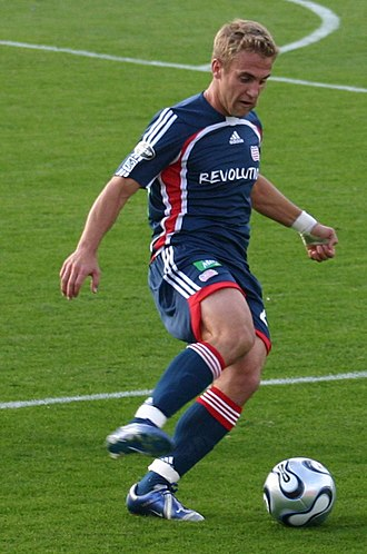 MLS Cup 2006 - New England Revolution forward Taylor Twellman, who scored two goals in the team's playoff run