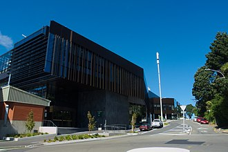Victoria University of Wellington - The Te Toki a Rata building was completed in 2017, and houses the School of Biological Sciences