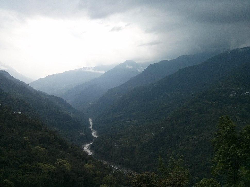 Teesta River Valley, Sikkim