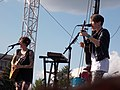 Tegan and Sara at Bunbury Music Festival 2013 (9312635808).jpg