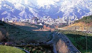 Modares Expressway - Image: Tehran 111