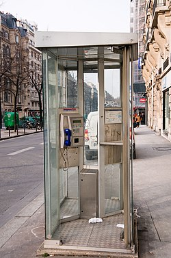 Telephone booth, Paris Feb 2012.jpg