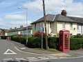 Telephone box at the junction of Trenewydd with Newgate Street - geograph.org.uk - 1284737.jpg