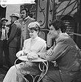 Televisierepetitie Een mooie zondag in september . Jules Royaards en Myra Ward, Bestanddeelnr 912-6054.jpg
