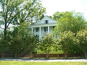 National Register of Historic Places listings in Lowndes County, Mississippi - Image: Temple Heights 1837