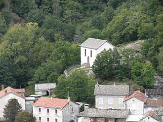 Cévennes National Park - The temple of Rouve Bas: today desacralized, it is a memorial devoted to the Camisard war in Bougès mountains (Cévennes)