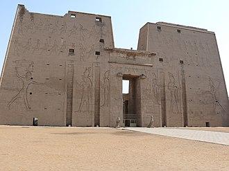 Temple of Edfu - Image: Temple of Edfu 02