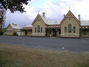 Tenterfield, New South Wales - Railway Station, now a museum