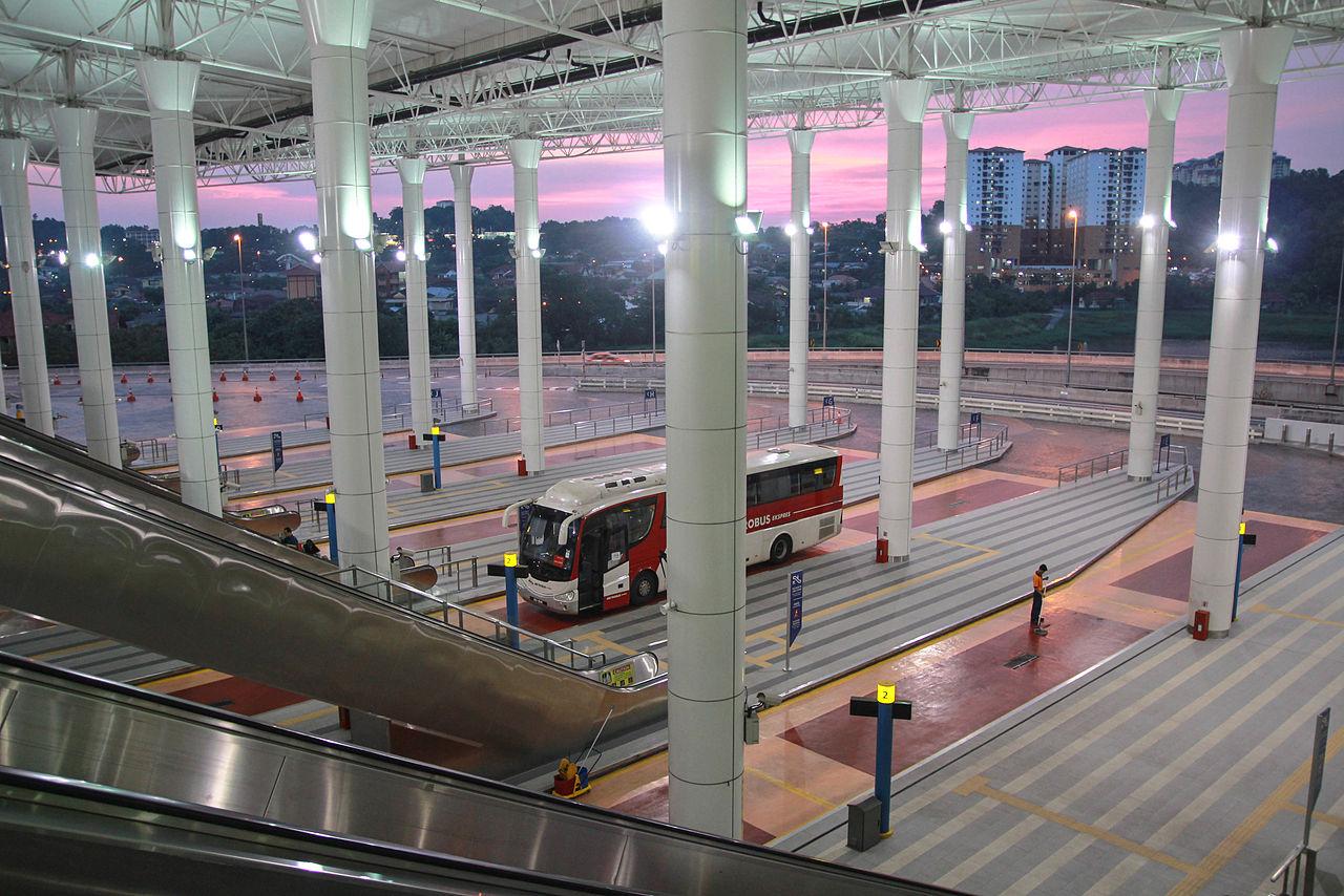 吉隆坡轉運站TBS (terminal bersepadu selatan)