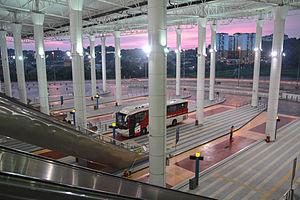 Terminal Bersepadu Selatan - Terminal Bersepadu Selatan at dusk