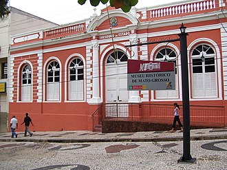 Cuiabá - Historical Museum of Mato Grosso.