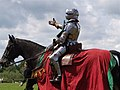 Tewkesbury Medieval Festival 2008 - Mounted knight.jpg