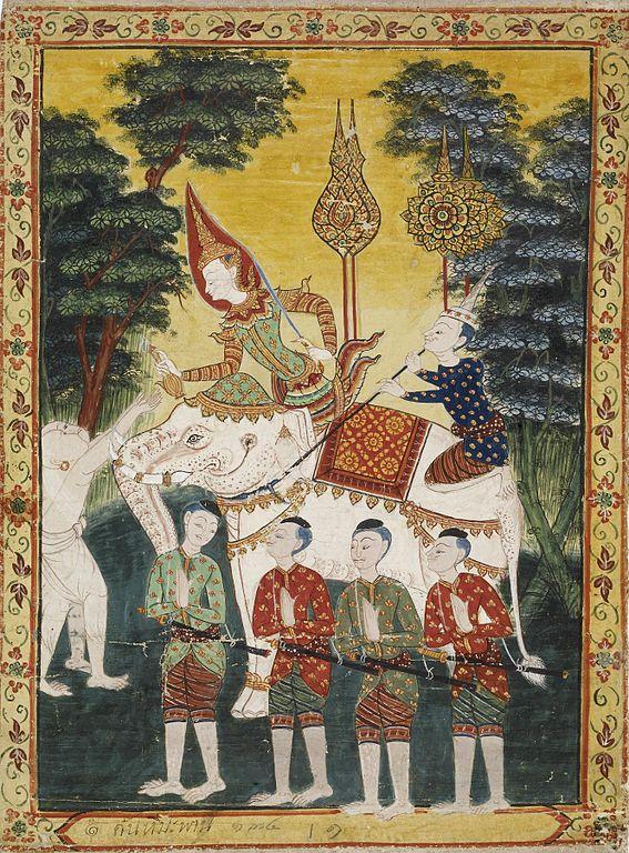 filethai vessantara jataka chapter 2 himavanta forest