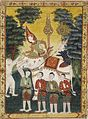 Thai - Vessantara Jataka, Chapter 2 (Himavanta Forest) - Walters 35265 - A T Front.jpg