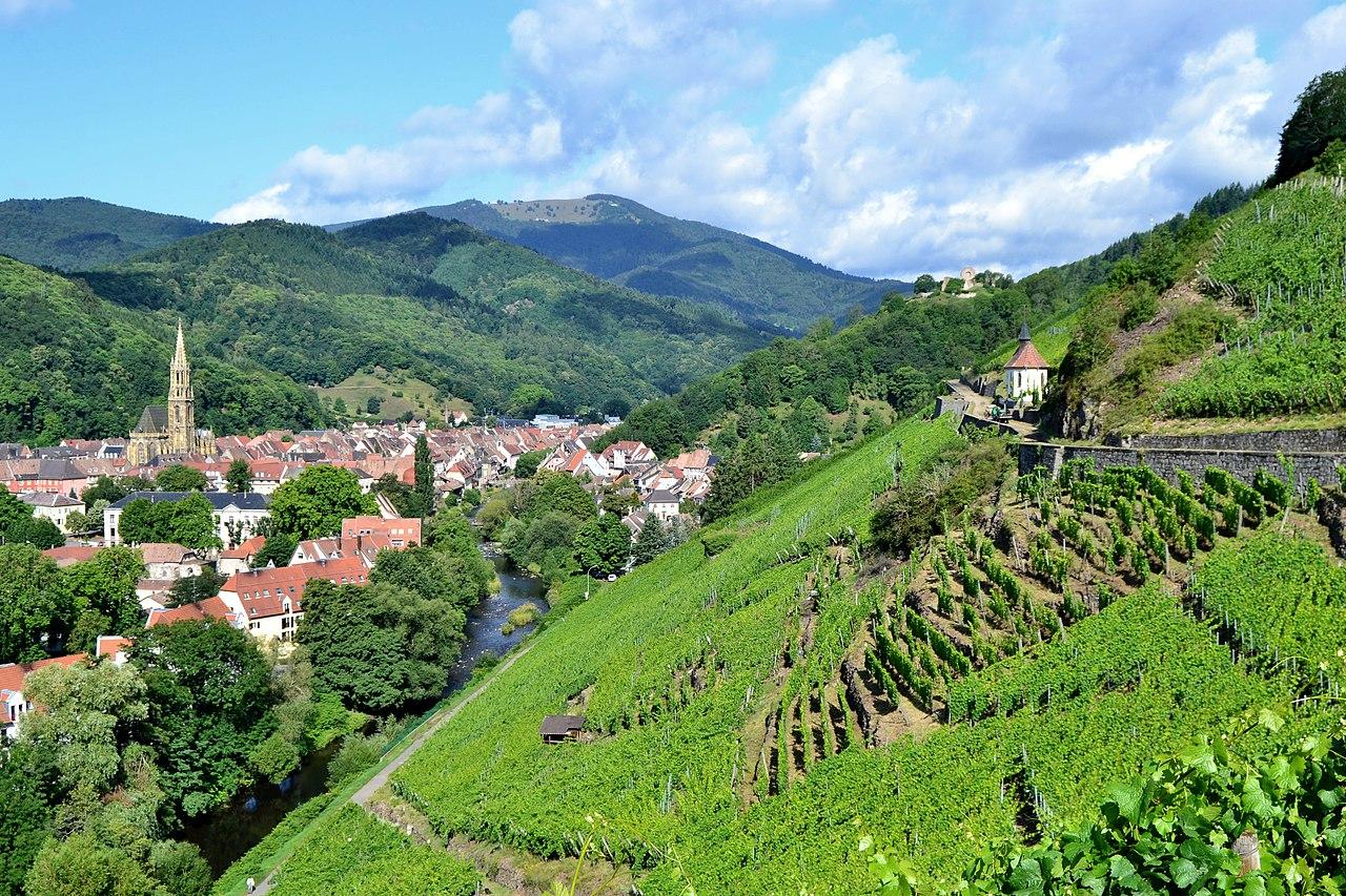 Thann (Танн), Эльзас, Франция - окрестности Мюлуза - путеводитель